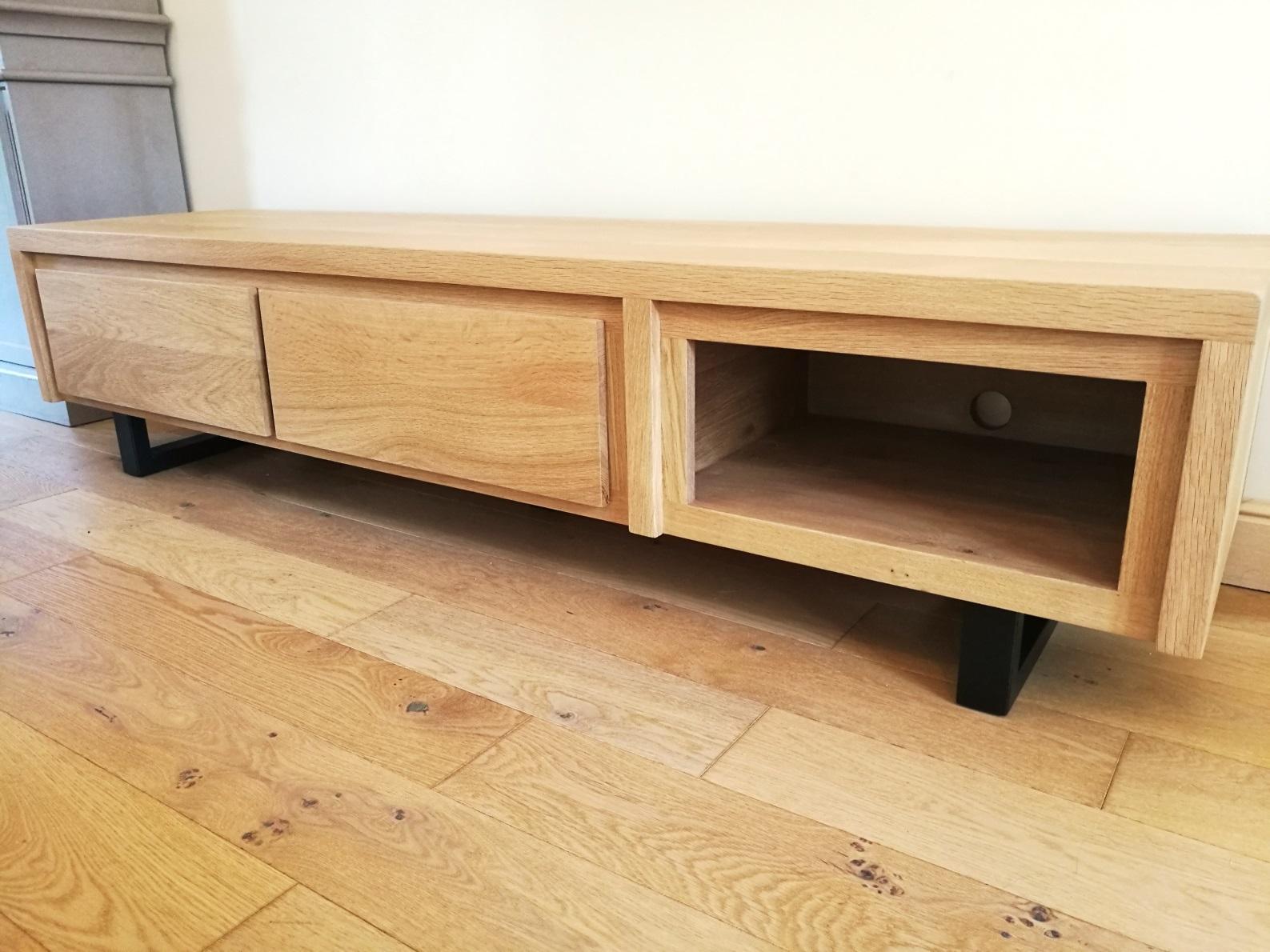 Meuble En Sapin Brut meubles tv industriels - metalik & bois meubles industriel