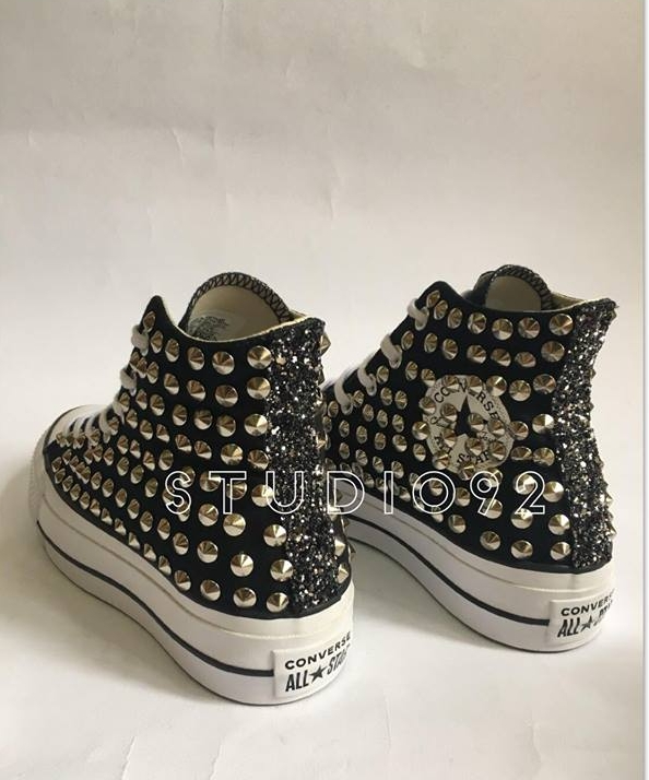 2all star converse platform alte borchie
