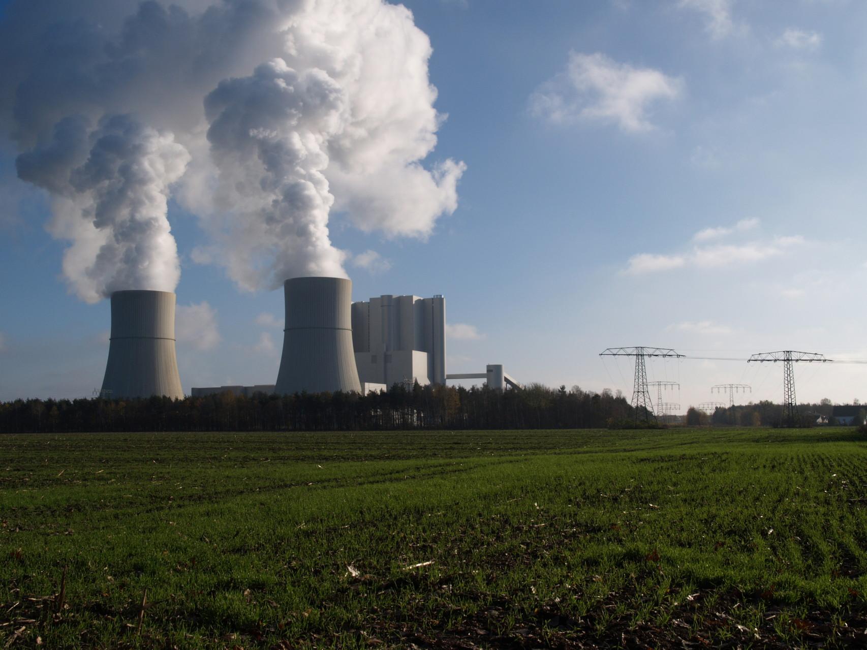 "2004   Power Plant ""Schwarze Pumpe"" (Black Pump) Spremberg/Germany"