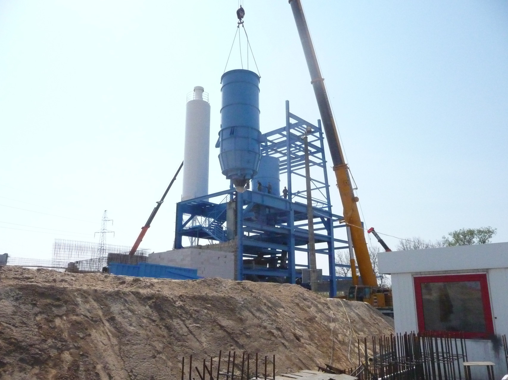 2009-2010   TRIMONT: Relocation of the DRO-BET Sand-Brick factory from Germany to Poland