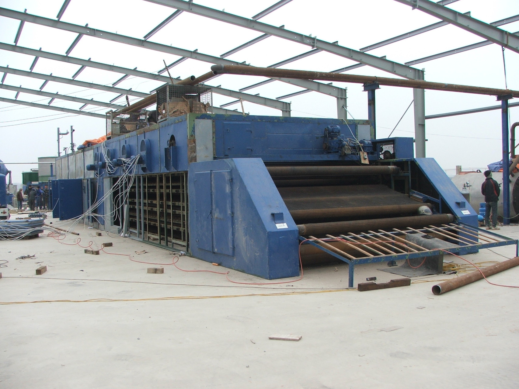 2011   TRIMONT: Relocation of a total Paper Mill from Germany to Vietnam