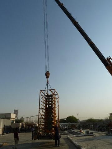 2011-2012   TRIMONT: Relocation of a Concrete Block Plant (MASA) from Germany to Saudi Arabia
