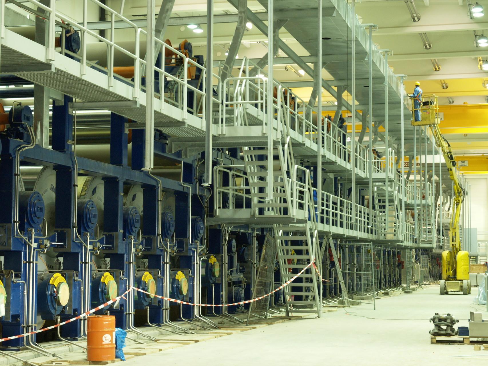 2005   Paper Mill Spremberg/Germany