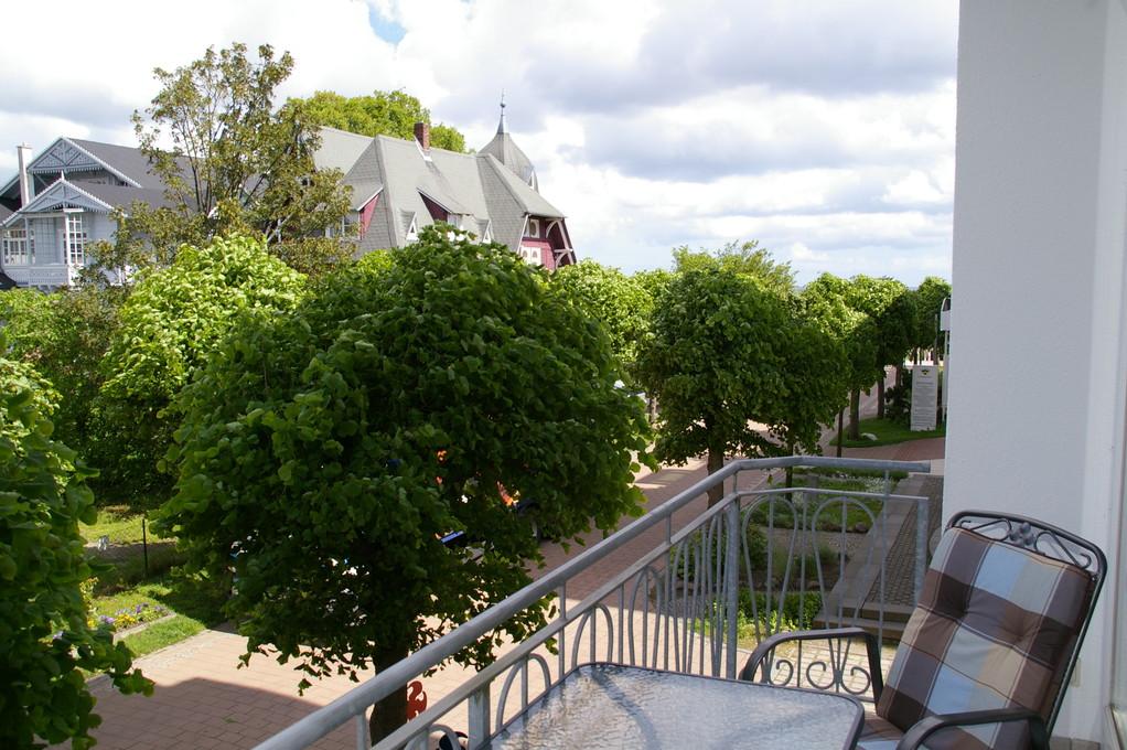 Balkon, Blickrichtung Meer