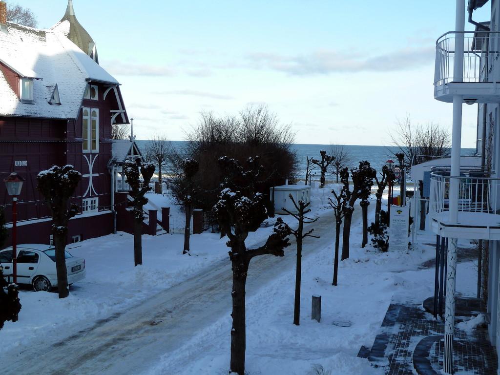 Auch im Winter lohnt sich ein Blick vom Balkon