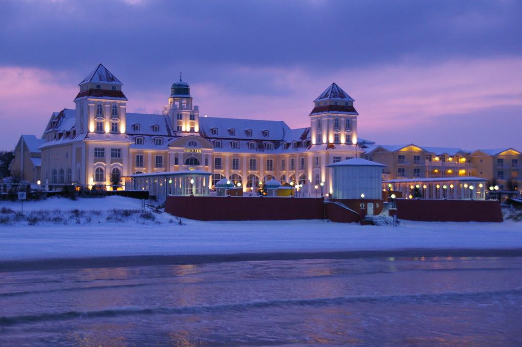 Kurhaus im Winter