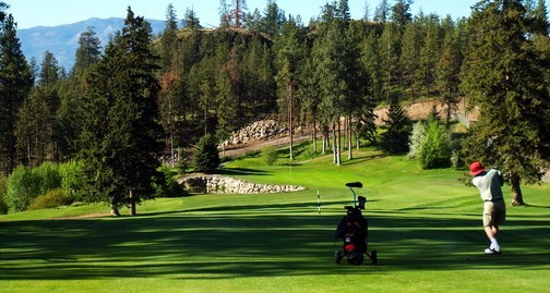 Golfing in the Okanagan