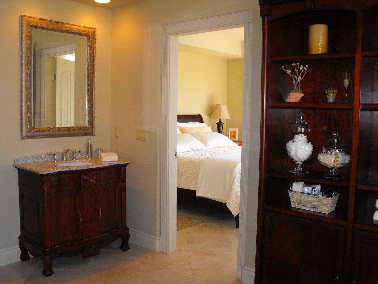 Lakeview Suite in our West Kelowna Boutique B&B,