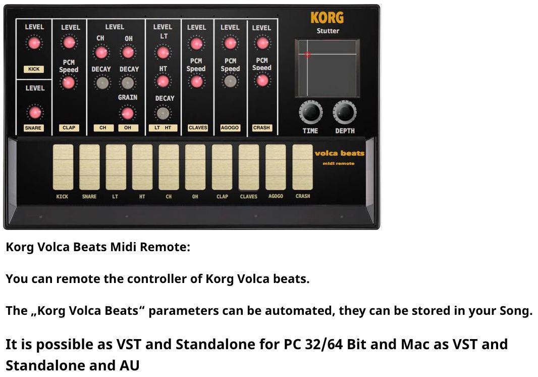 Roland JU-06 Midi Editor /Remote (Vst, AU and Standalone)