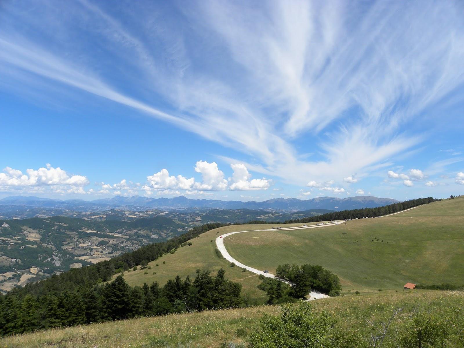 Assisi e monte Subasio