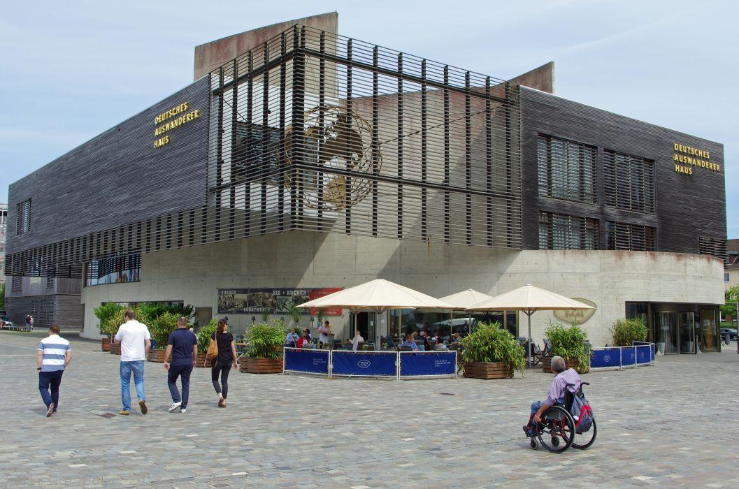 Ins Unbekannte: das Deutsche Auswandererhaus in Bremerhaven