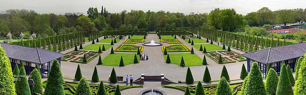 Garten von Kloster Kamp