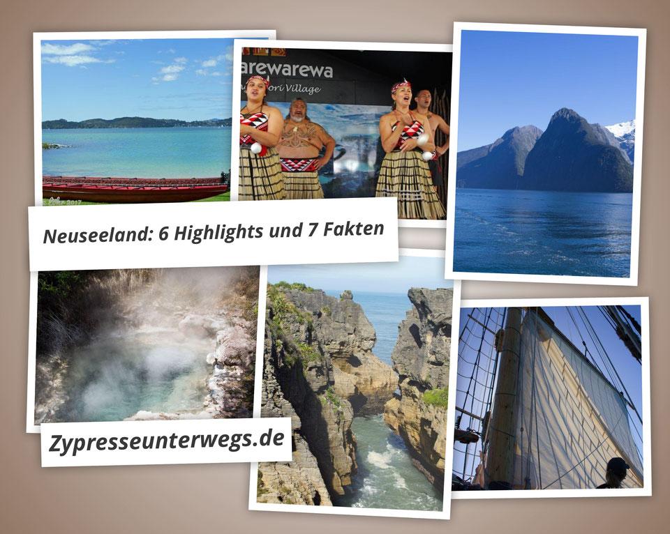 Neuseeland:  7 Fakten und unsere 6 Highlights