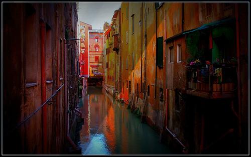 Italien: in Bologna