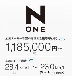 Nワン価格1,185,000