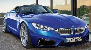 BMW Z5とトヨタ新型スープラのイメージ画像