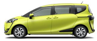 フリードと比較されるトヨタのシエンタ
