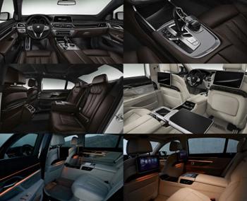 (BMW7のインテリア画像)