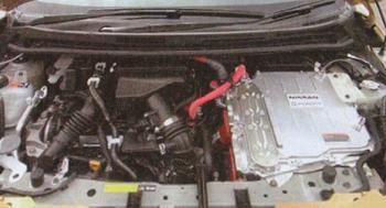(画像:e-POWERのエンジン)