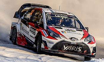 画像:WRCに参戦したヤリス