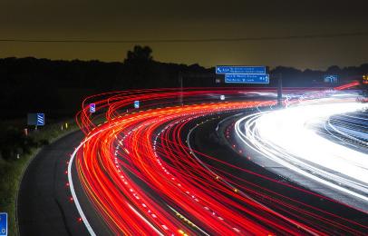 夜間走行の軽自動車実燃費