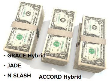 GRACE Hybrid/JADE/N SLASH/ACCORD Hybrid