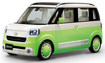 (新型トールワゴン軽自動車ムーヴキャンバスとは?)