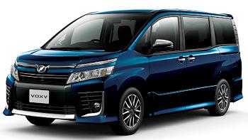 (ヴォクシー新車価格:228万4600円~)