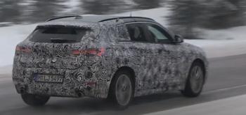新型BMW X2のバックショット