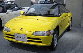 S1000の前身モデルホンダビート