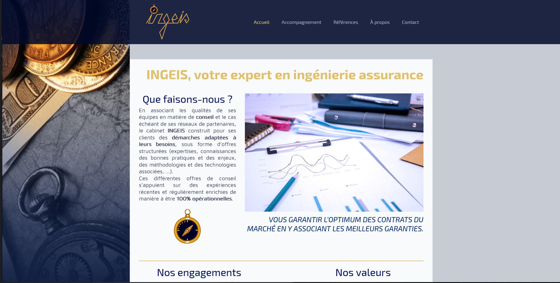 Site web de INGEIS - 2020