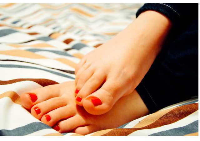 schöne Füße - barfuß