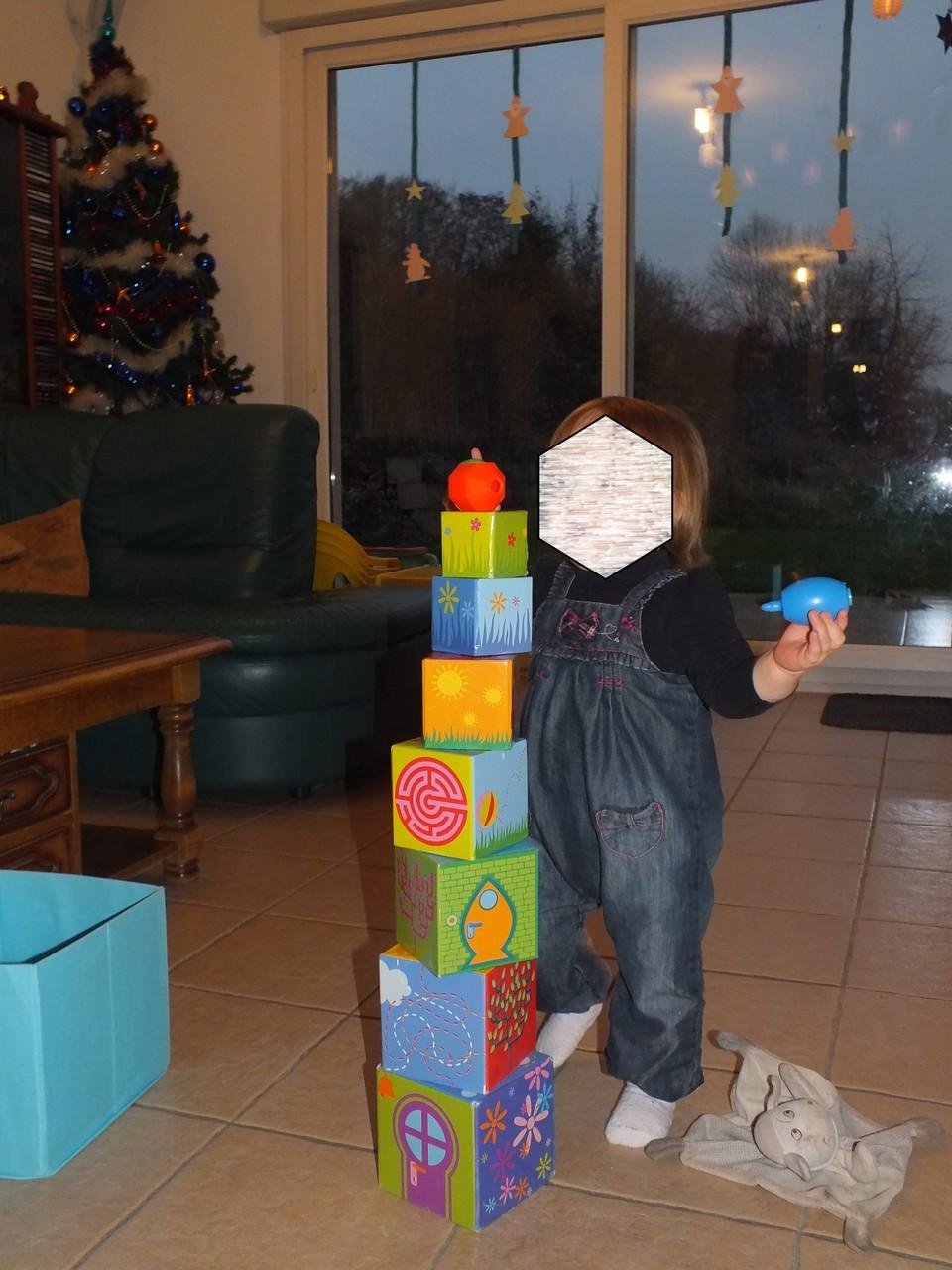 la tour des cubes