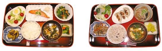 お食事例 写真