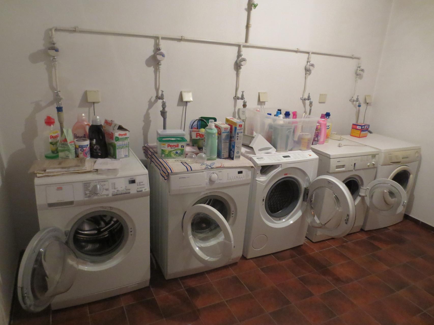 Waschraum und Gemeinschaftsraum in Brakwede