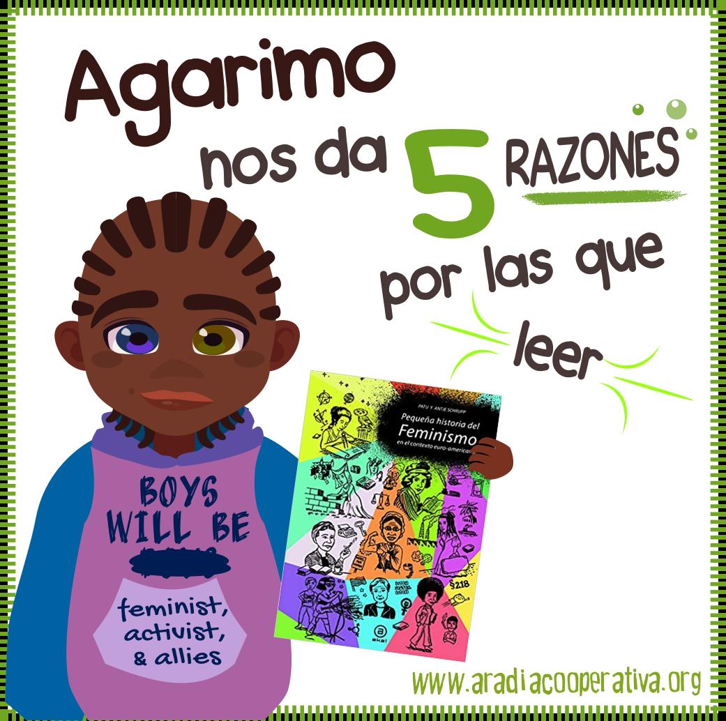 "5 razones para leer ""Pequeña historia del feminismo"""