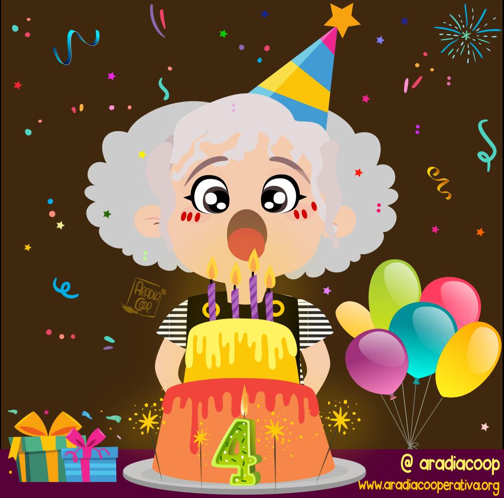 ¡Feliz cumpleaños Aradia!
