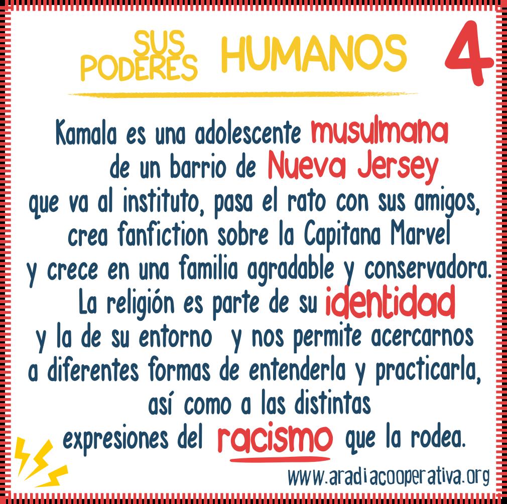4. Sus poderes humanos