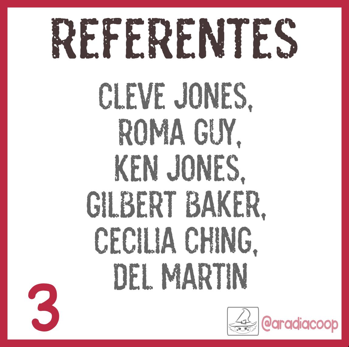 3. Referentes