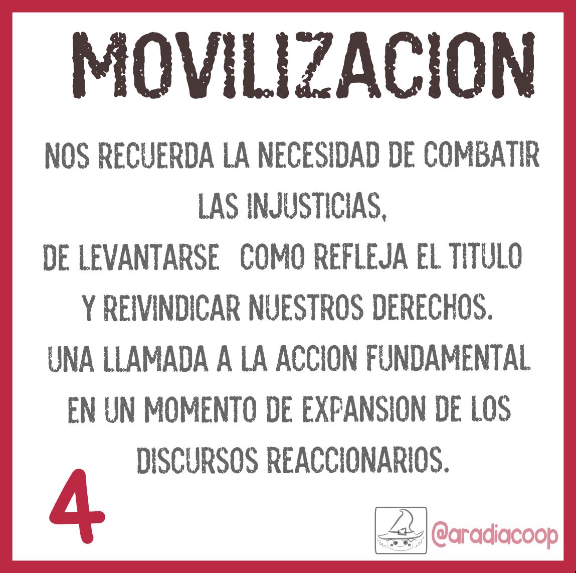 4. Movilización