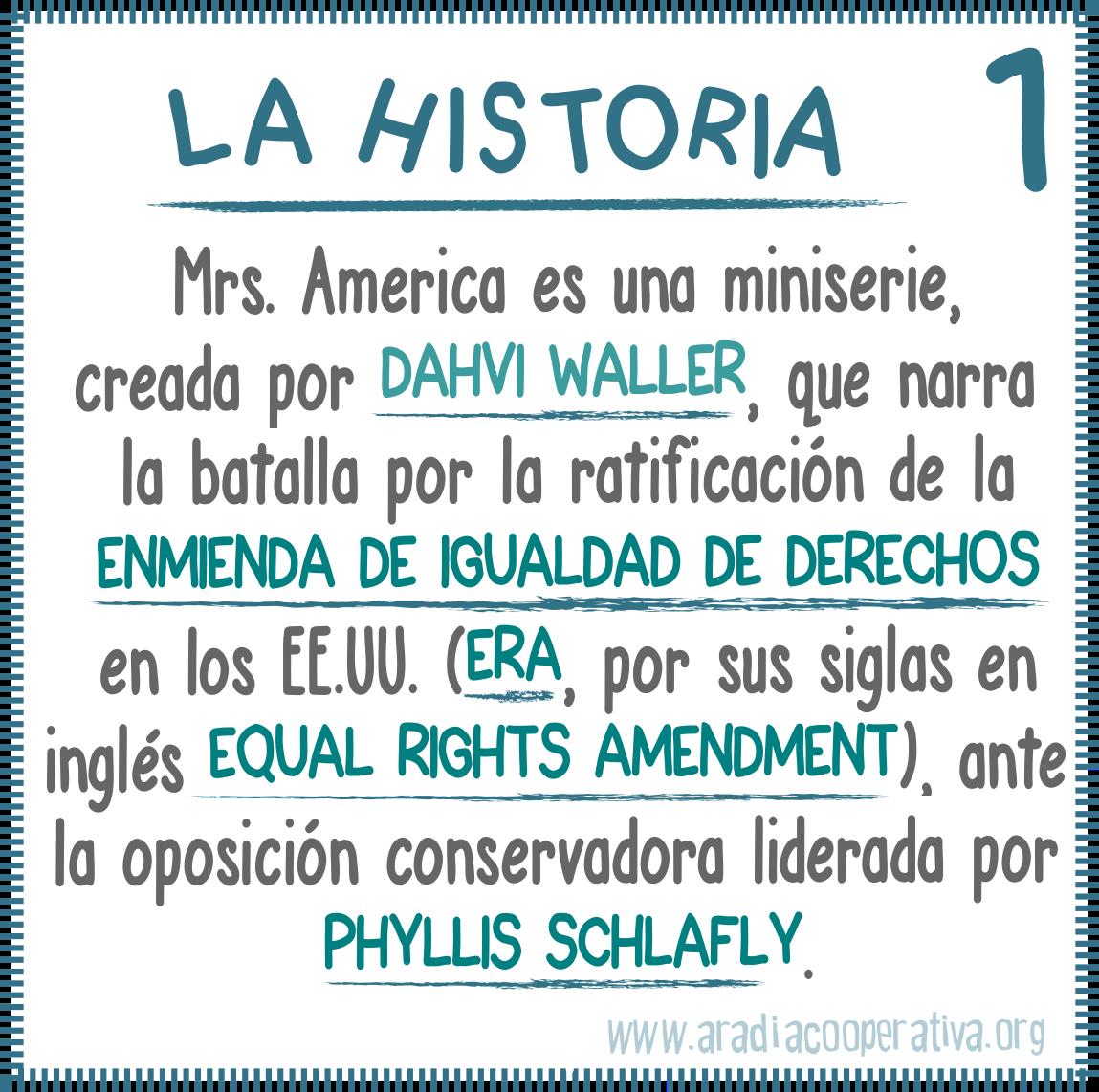 1. La historia