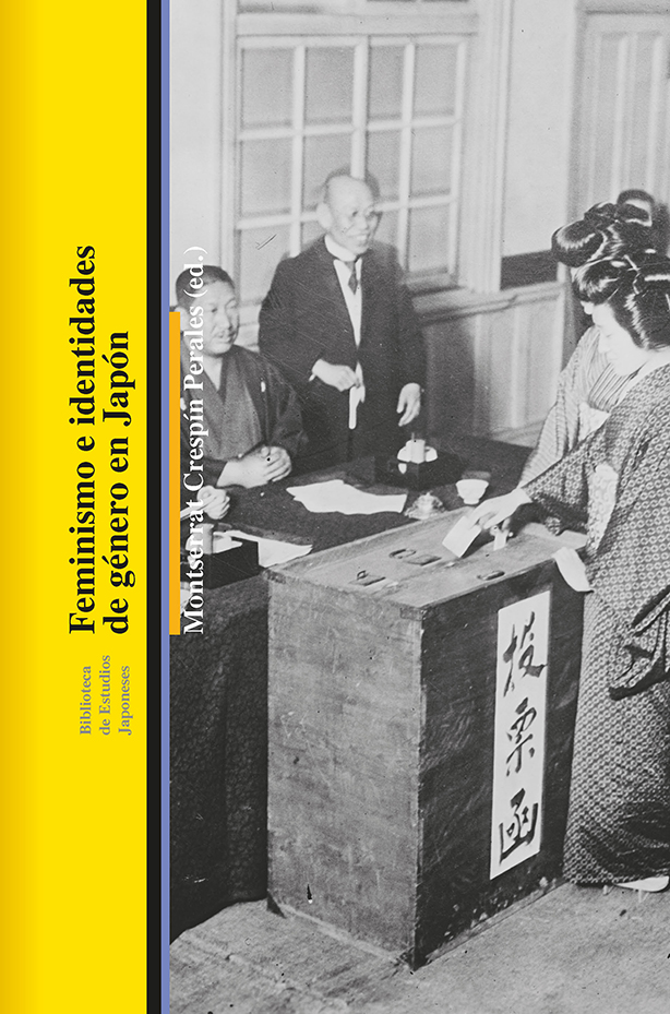 Portada del libro Feminismos e identidades de género en Japón de la editorial Bellaterra