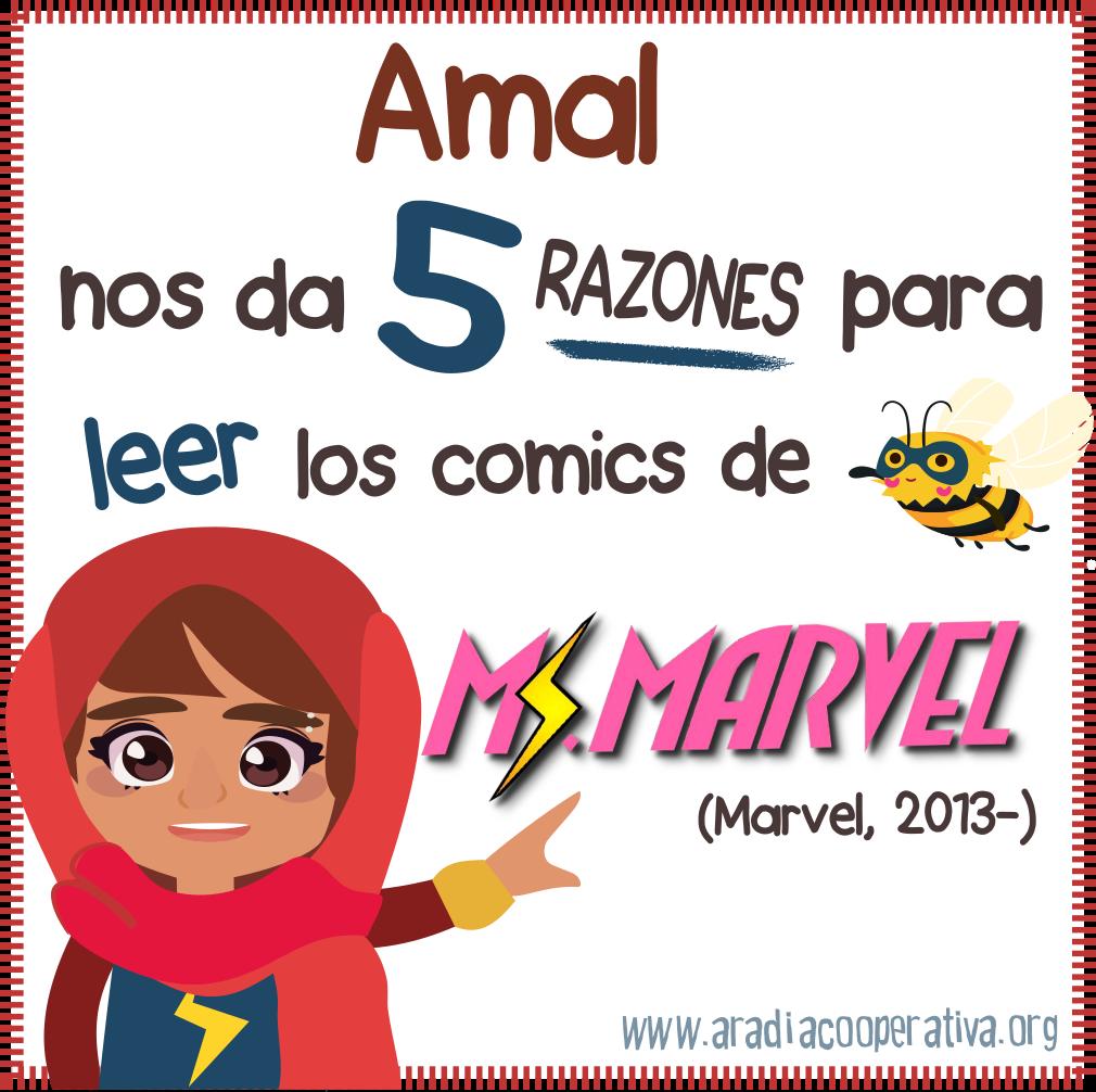5 razones para leer Ms. Marvel
