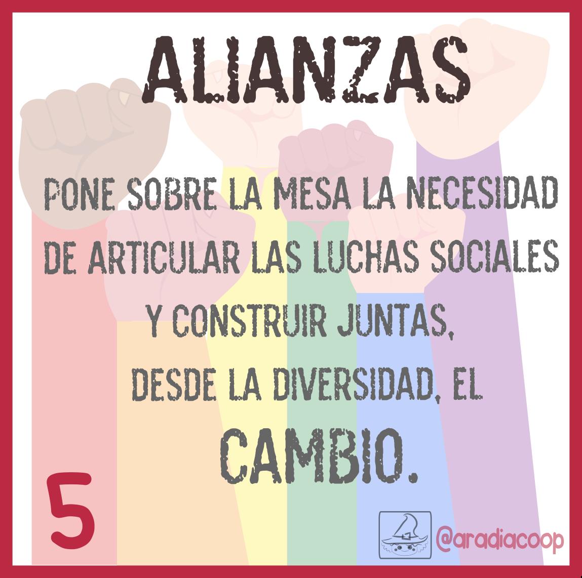 5. Alianzas