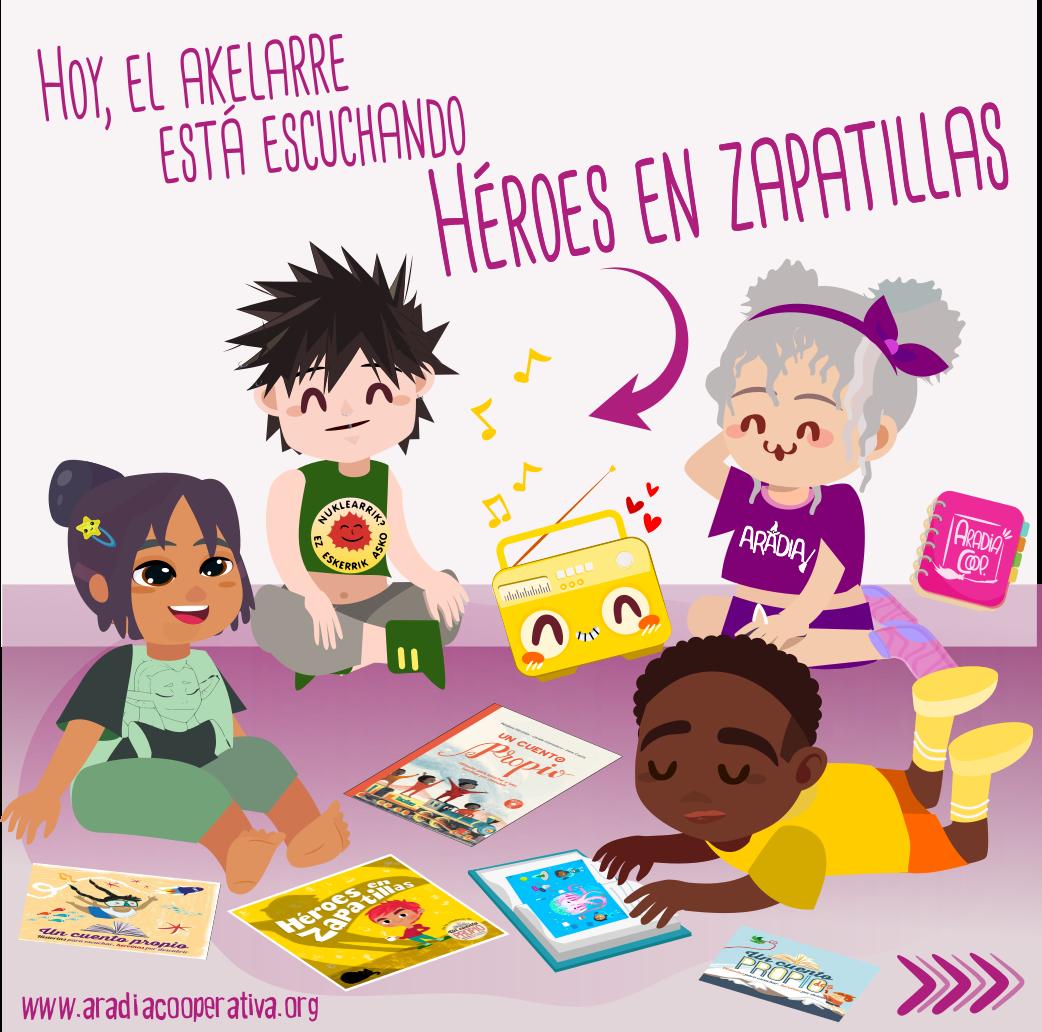 Sobre Héroes en Zapatillas