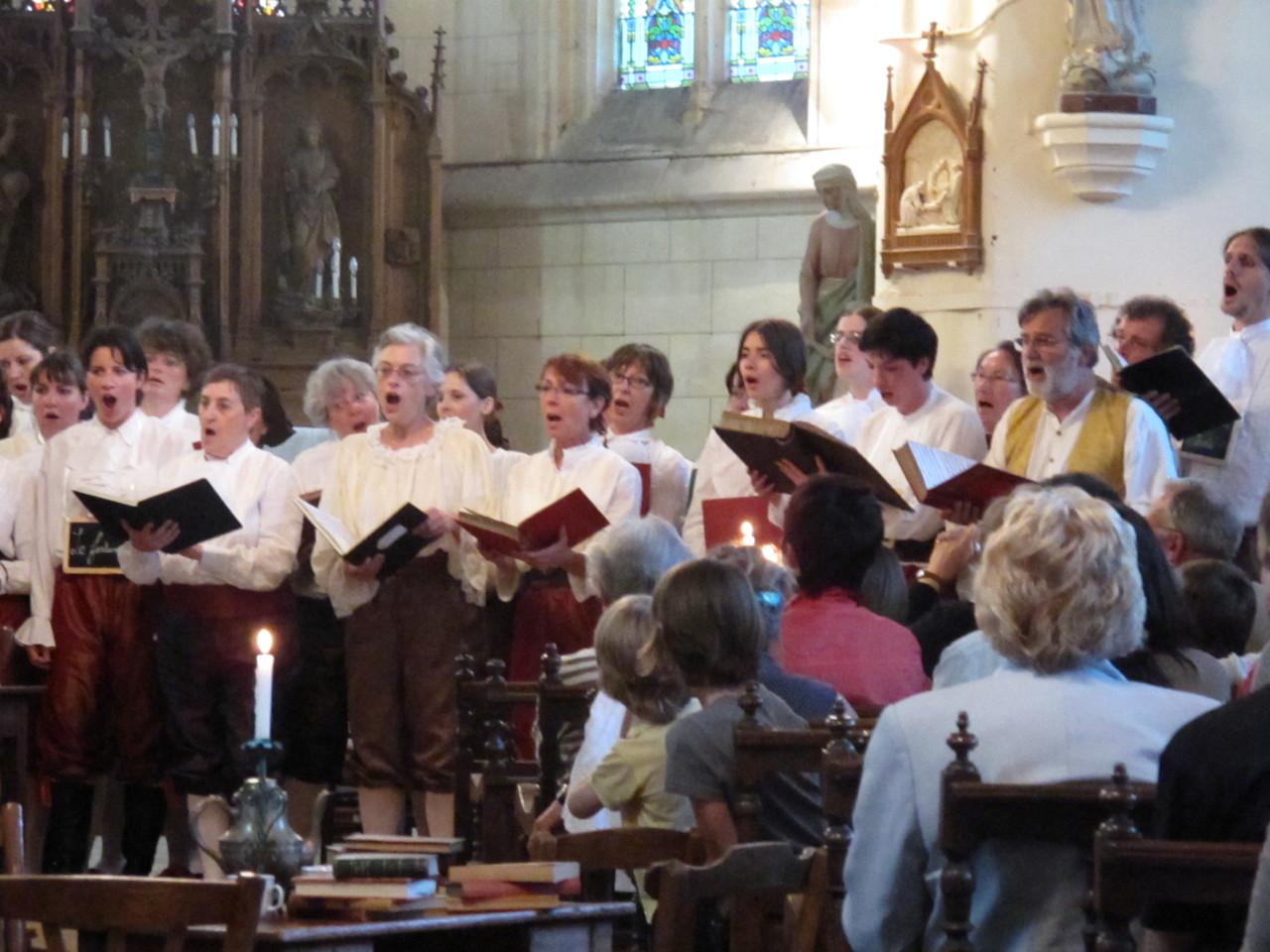 20h, dans l'Eglise, le Choeur de l'IUFM de Beauvais interprète : Café Zimmermann