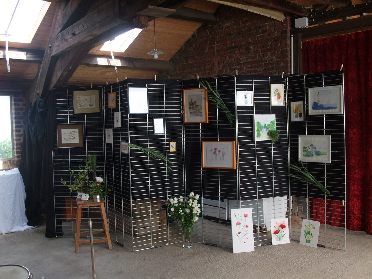 Les deux jours dans la Forge...exposition d'artistes...