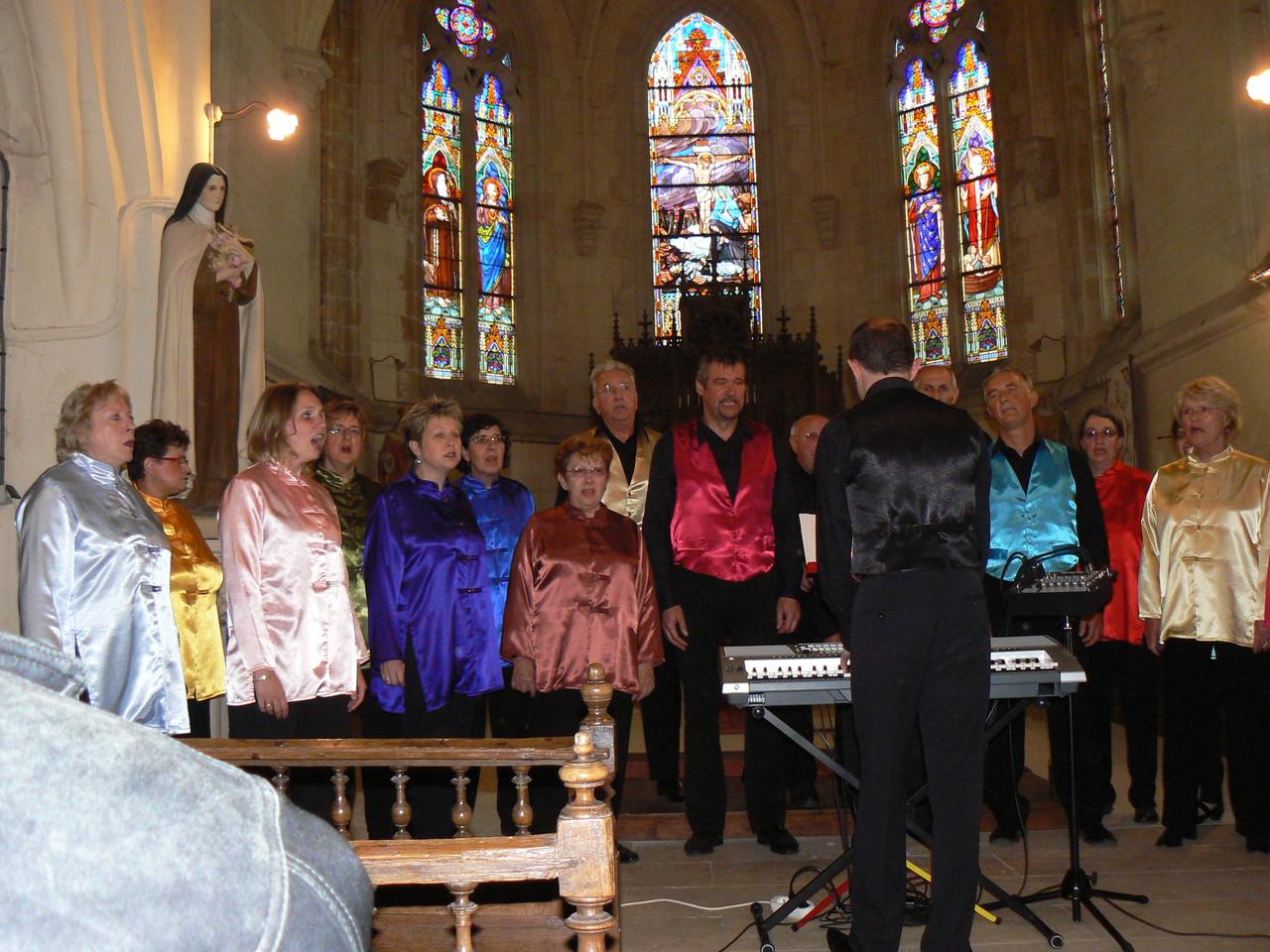 20h à l'Eglise : Les Voix de Noye