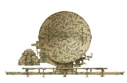 FuSE 62D Würzburg in 1//35 von DasWerk Radargerät FMG 39