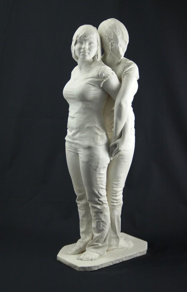 3D Art Ina und Olga stehend